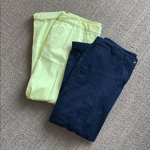 BUNDLE! TWO Pairs Talbots Relaxed Chinos